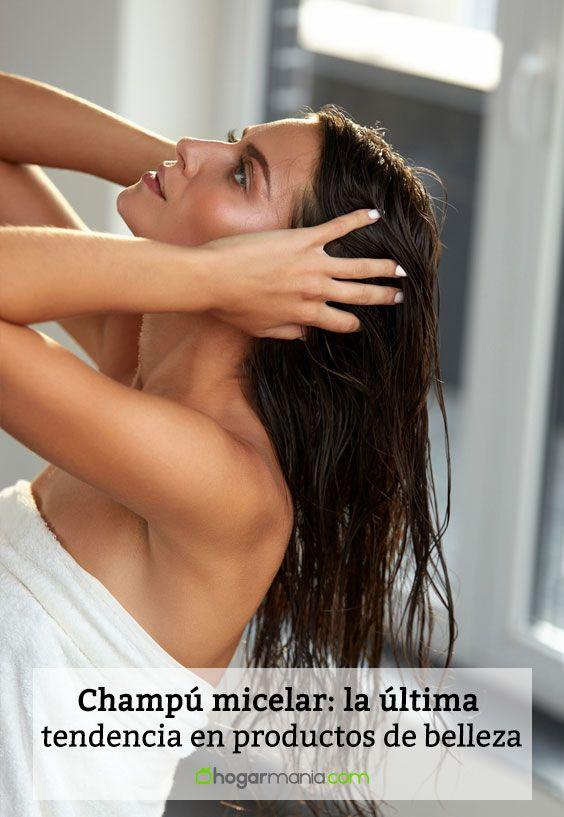 Champú micelar: la última tendencia en productos de belleza