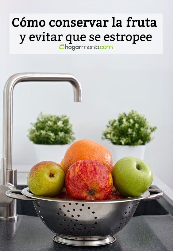 Cómo conservar la fruta y evitar que se estropee