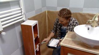 Renovar baño luminoso y funcional