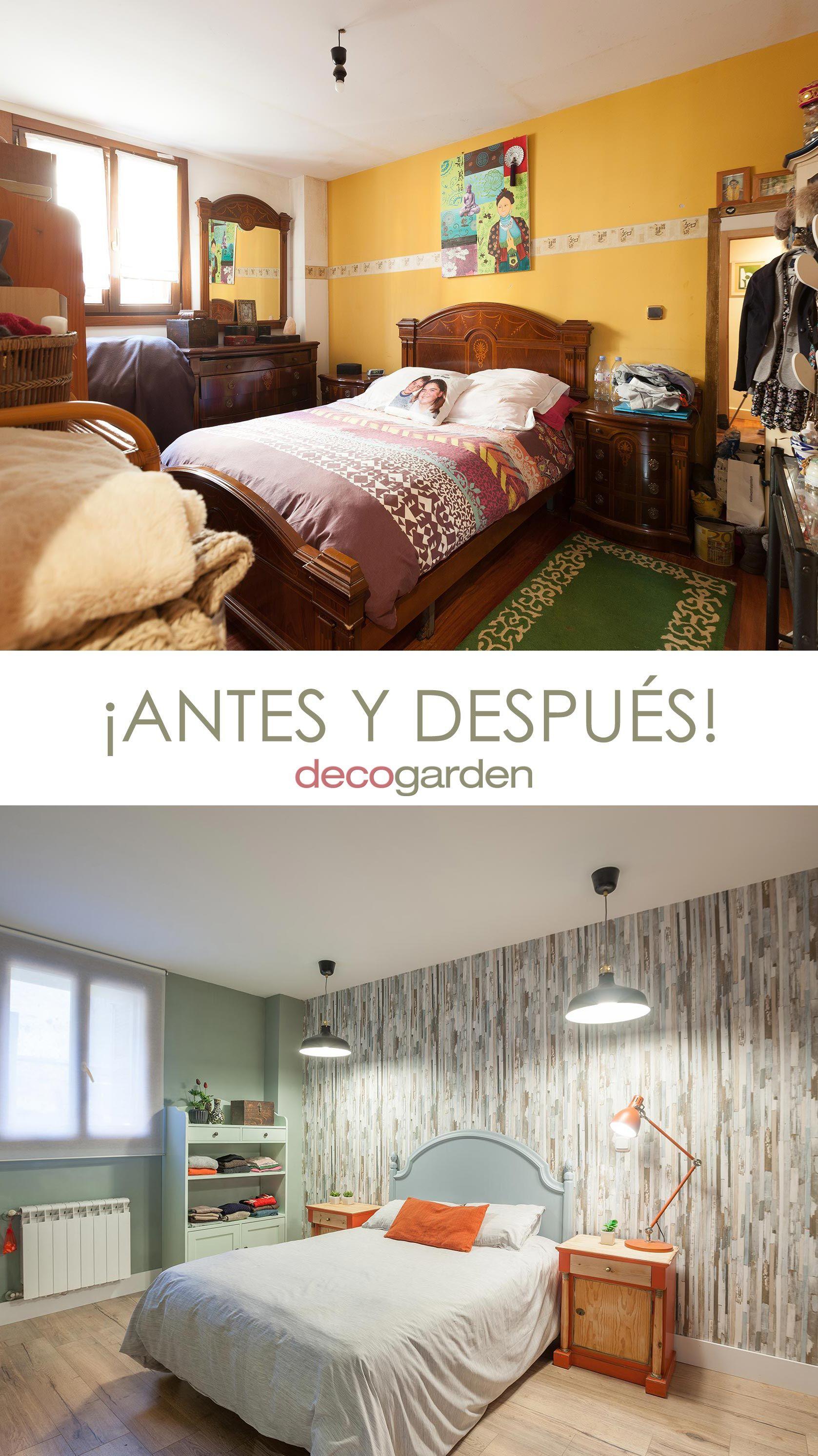 Decorar dormitorio - antes y después