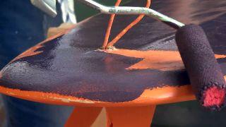 Cómo hacer una lámpara con una tabla de surf  - Paso 2