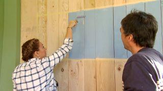 decorar un porche juvenil en color verde - paso 4