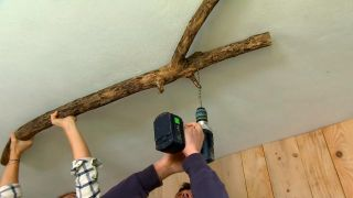 decorar un porche juvenil en color verde - paso 6