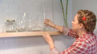 Decorar salón comedor con cocina abierta en madera - paso 7