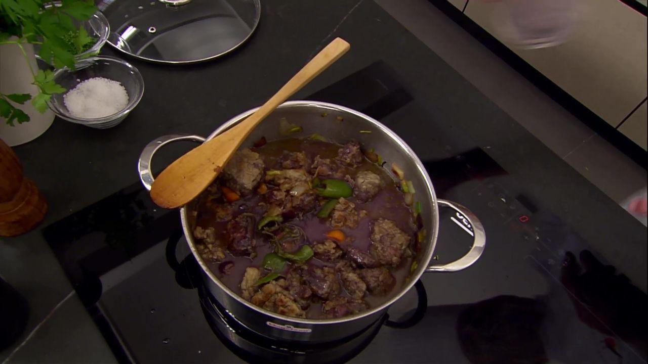 Como Cocinar Jabali Estofado | Jabali Estofado Presentacion