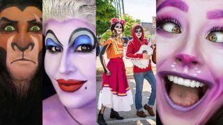 Maquillajes de Halloween de personajes de Disney