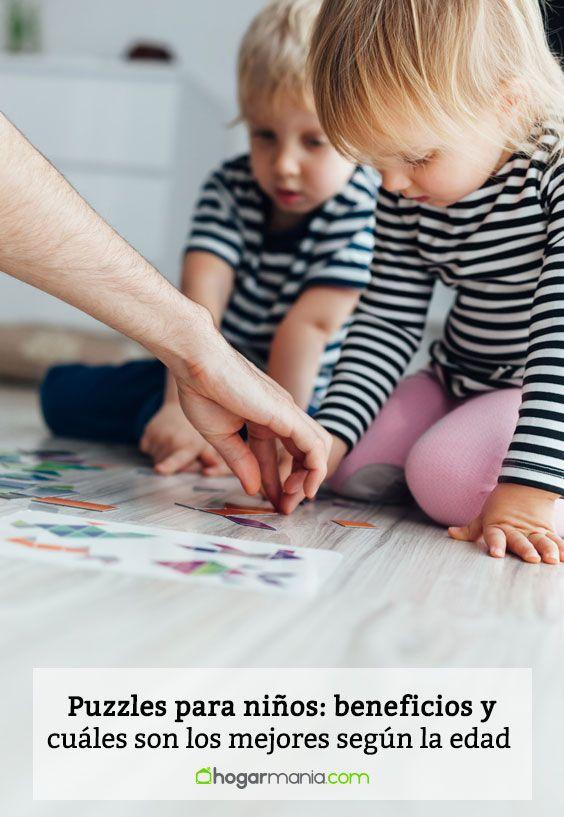 Puzzles para niños: beneficios y cuáles son los mejores según la edad