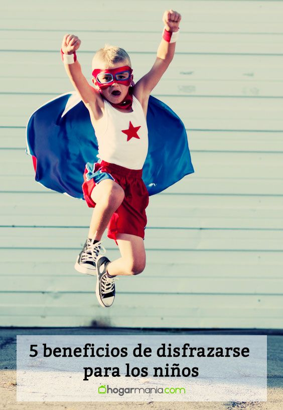5 beneficios de disfrazarse para los niños