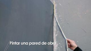 Cómo pintar una pared de obra