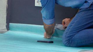 Instalación de suelo laminado