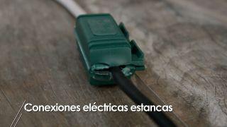 Hacer una conexión eléctrica estanca