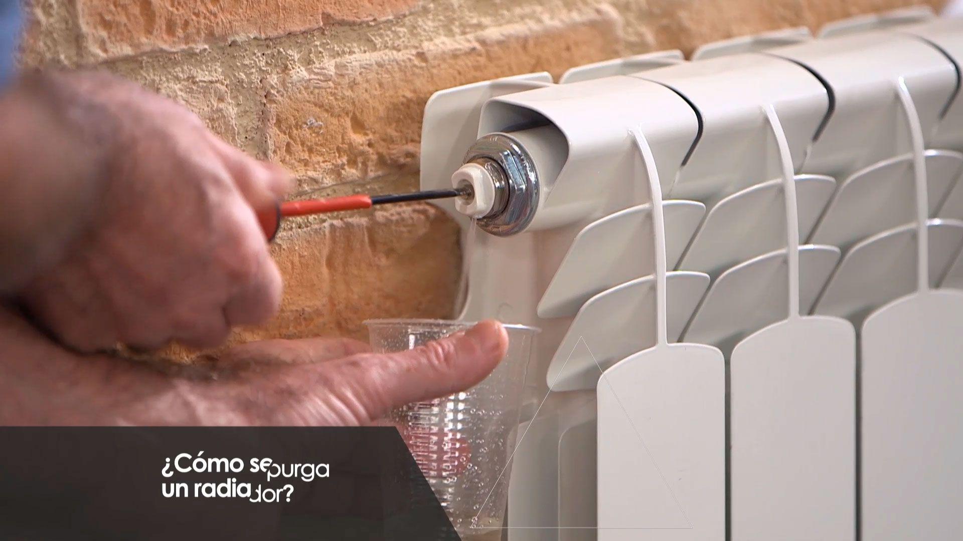 Cómo se purga un radiador