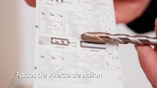 Cómo usar tacos de vuelco de nylon