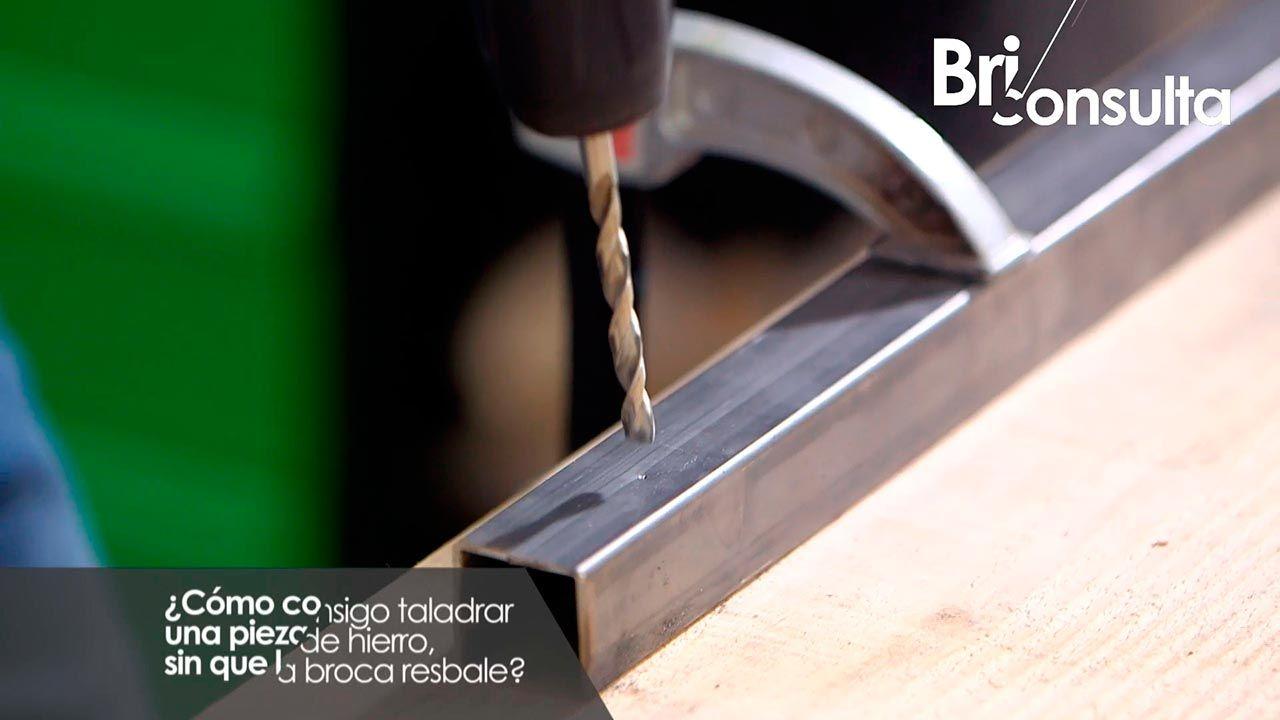 Cómo taladrar el metal sin que la broca resbale