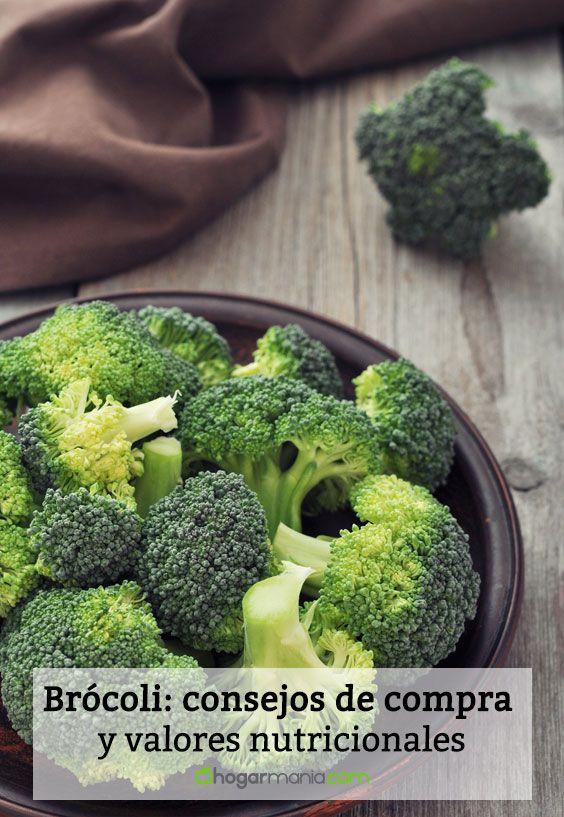 Brócoli: consejos de compra y valores nutricionales