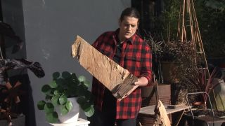 Peanas originales de madera