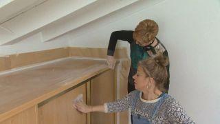 Cómo decorar un dormitorio infantil abuhardillado luminoso y personalizado - Paso 2