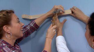 Crear baldas de madera con forma de nubes - paso 5