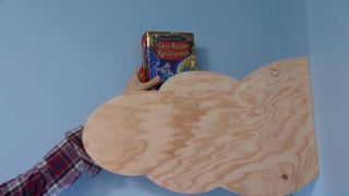 Crear baldas de madera con forma de nubes - paso 7