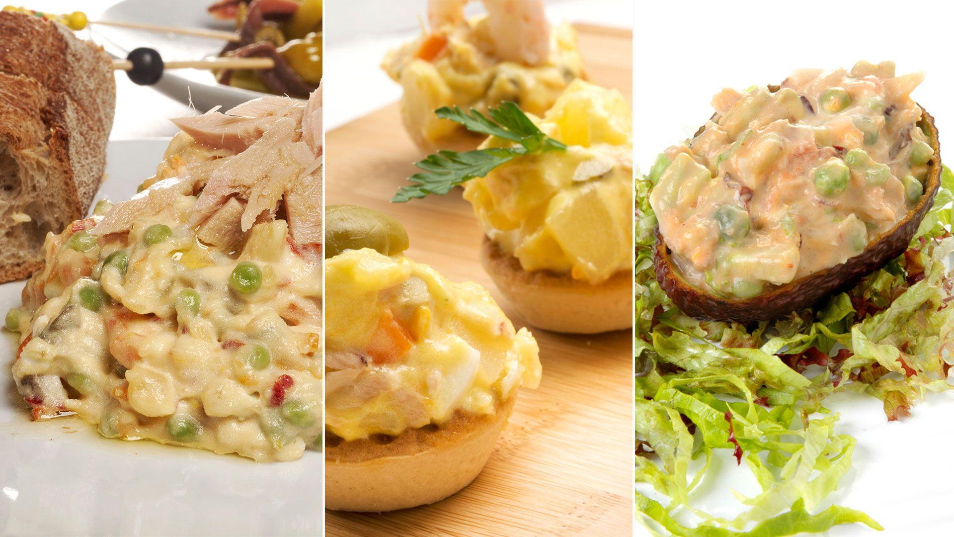 5 formas distintas de comer ensaladilla rusa