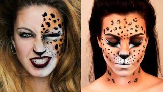 Cómo hacer maquillaje de leopardo
