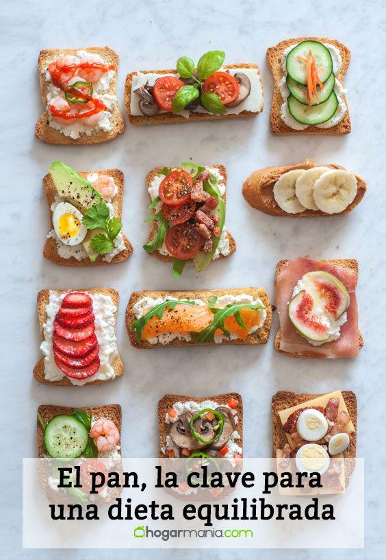 El pan, la clave para una dieta equilibrada