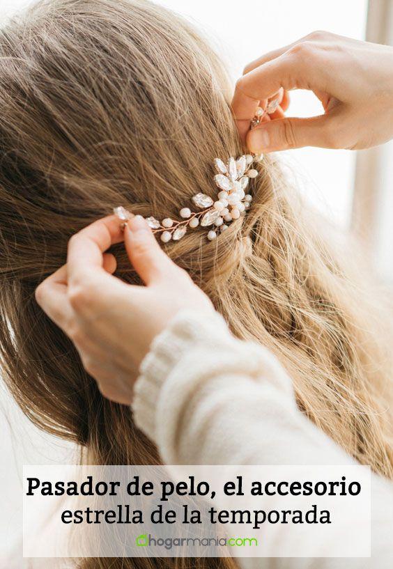 Pasador de pelo, el accesorio estrella de la temporada