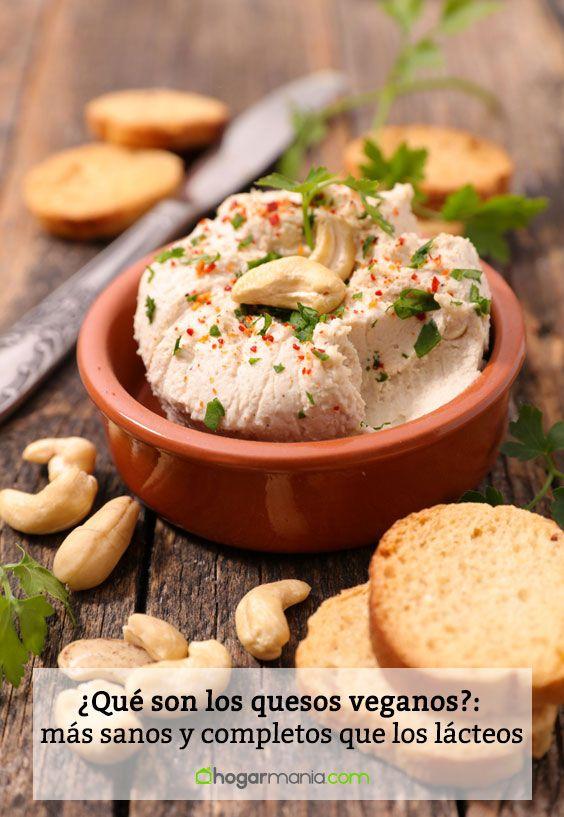 ¿Qué son los quesos veganos?: más sanos y completos que los lácteos
