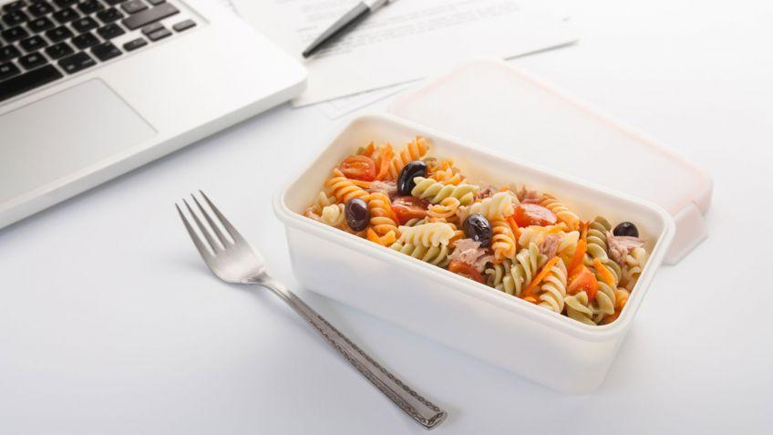 5 recetas de táper sanas y rápidas para llevar al trabajo toda la semana