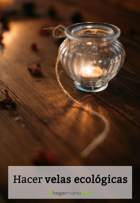 Hacer velas ecológicas
