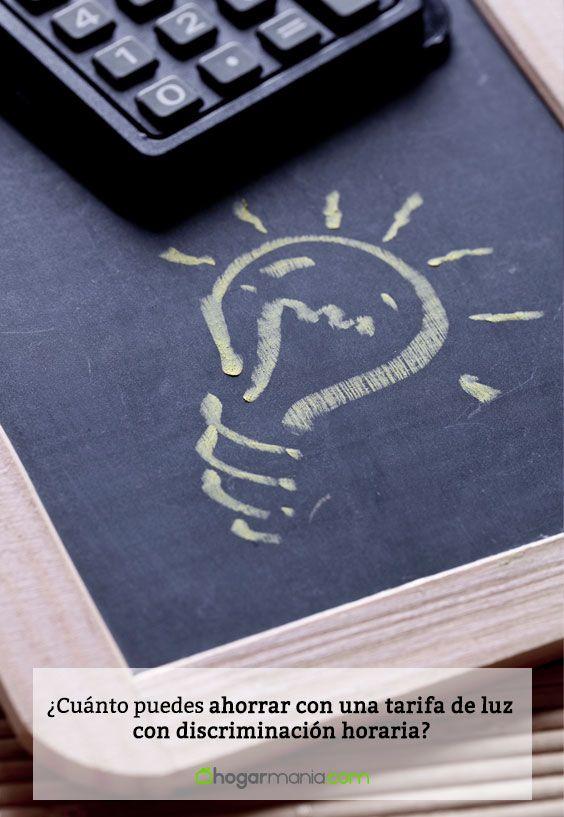¿Cuánto puedes ahorrar con una tarifa de luz con discriminación horaria?