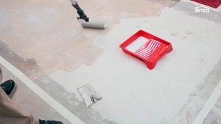 Sellador transparente de poliuretano para suelo de mortero