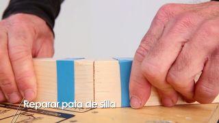Reparar pata de silla