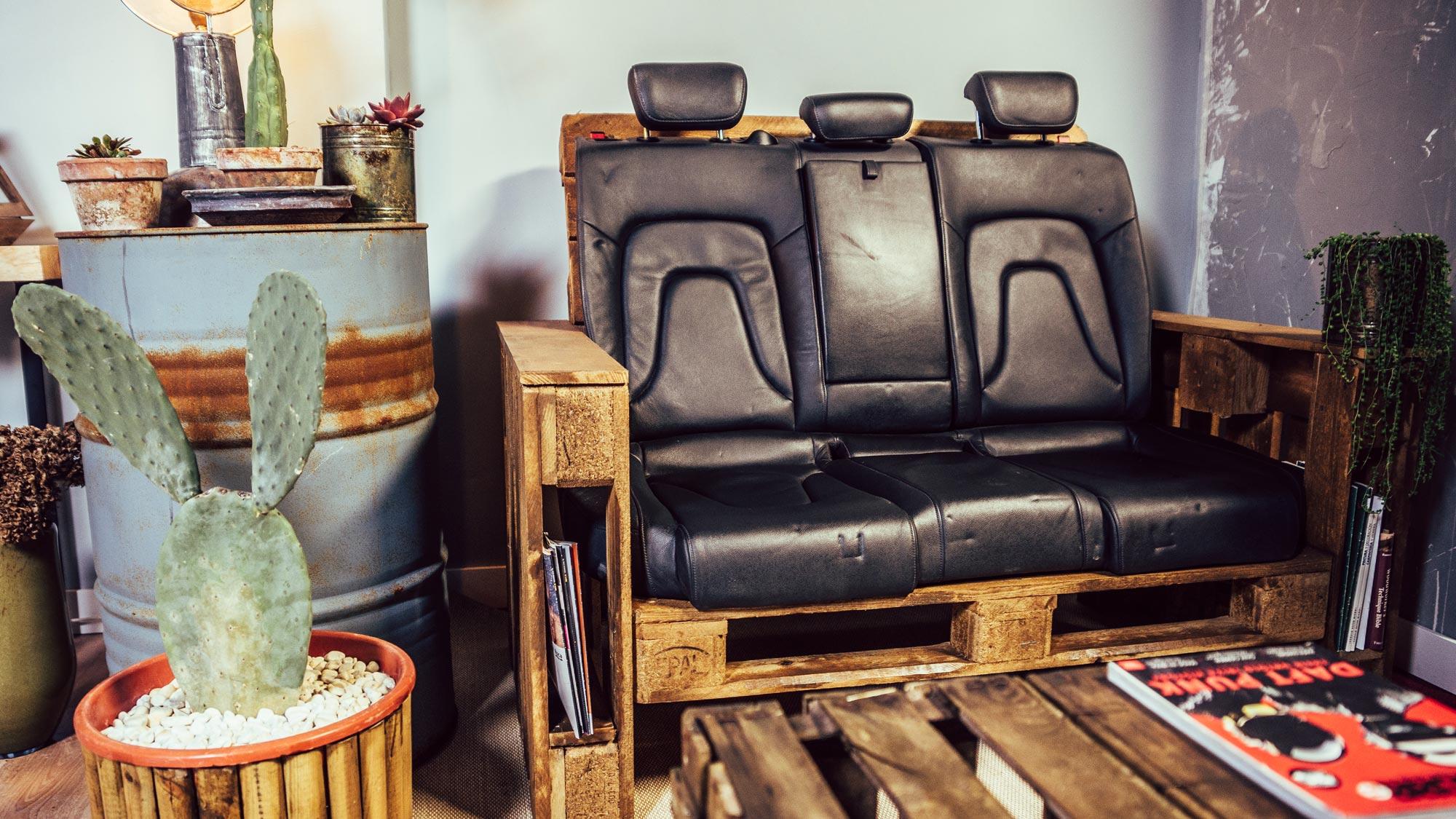 muebles con palets sofa