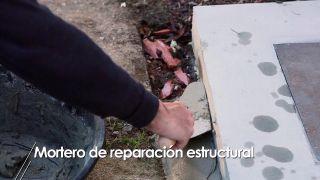 Mortero de reparación estructural