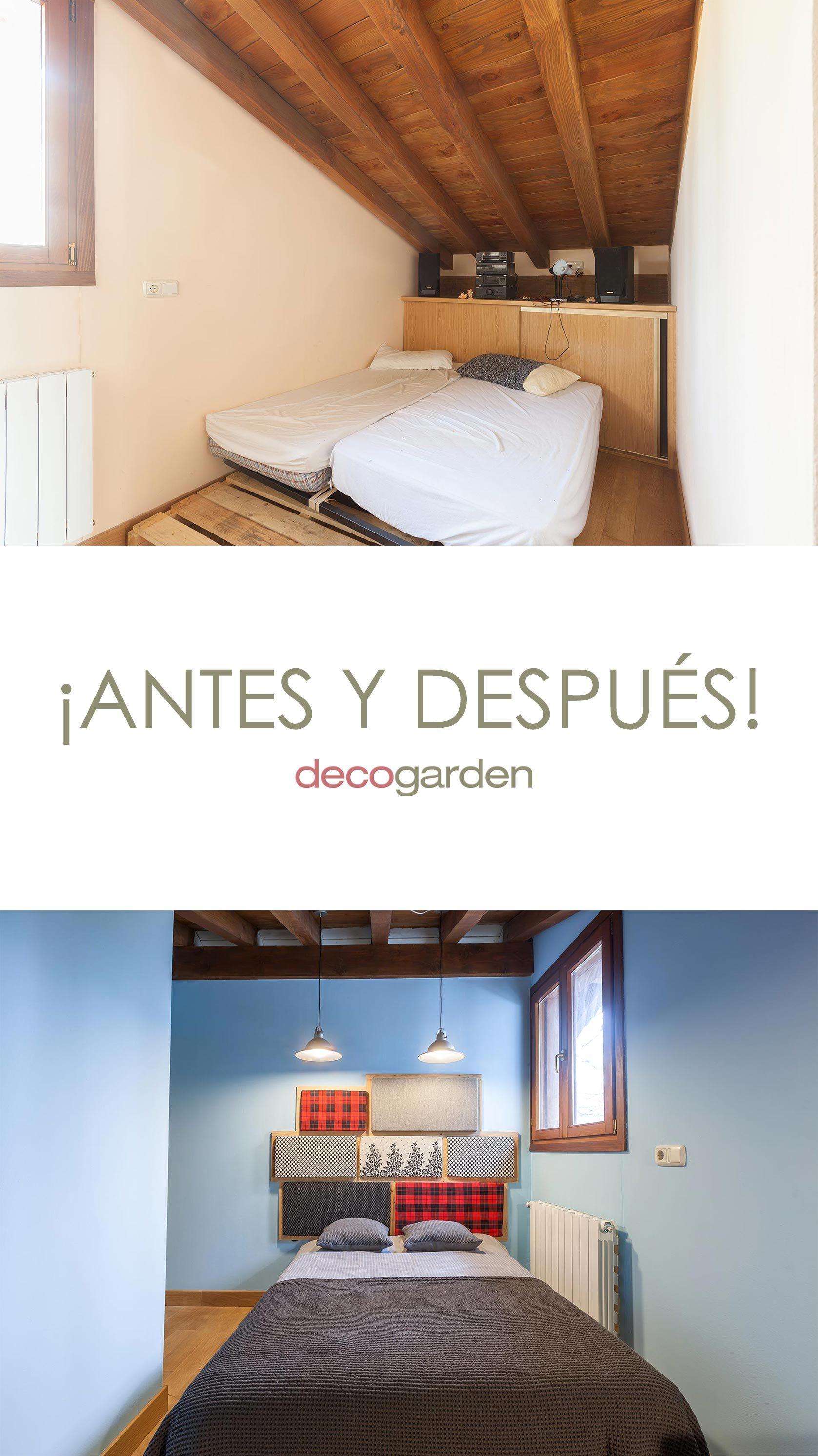 Habitación de invitados confortable y organizada en ático