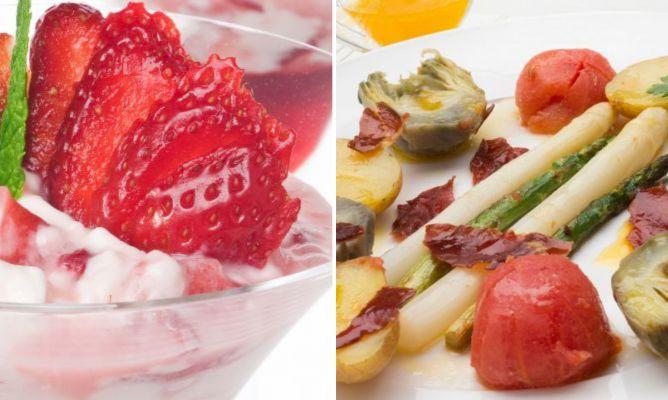 Recetas Fáciles De Primavera Con Frutas Y Verduras De