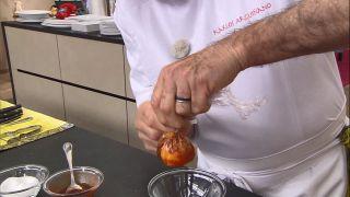 Huevo flor o escalfado - Paso 3