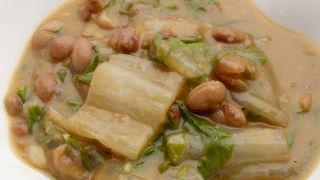 Hinojo, planta contra la indigestión - Alubiar pintas con acelgas e hinojo