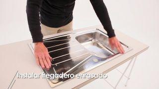 Cómo instalar un fregadero encastrado