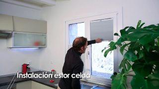 Cómo instalar un estor celda