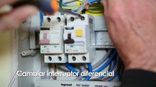 Cómo cambiar un interruptor diferencial