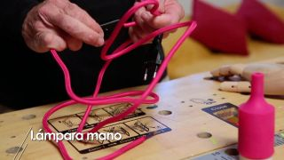 Cómo hacer una lámpara con forma de mano