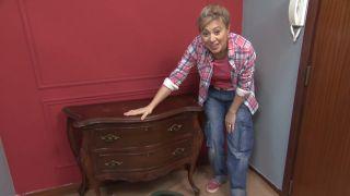 Reciclar una cómoda vintage de estilo señorial y barroco antes