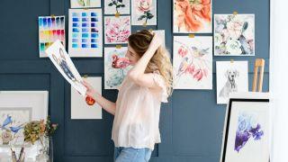 Ideas para decorar una pared personalizada: murales, dibujos, vinilos…
