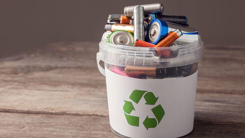 Reciclar pilas