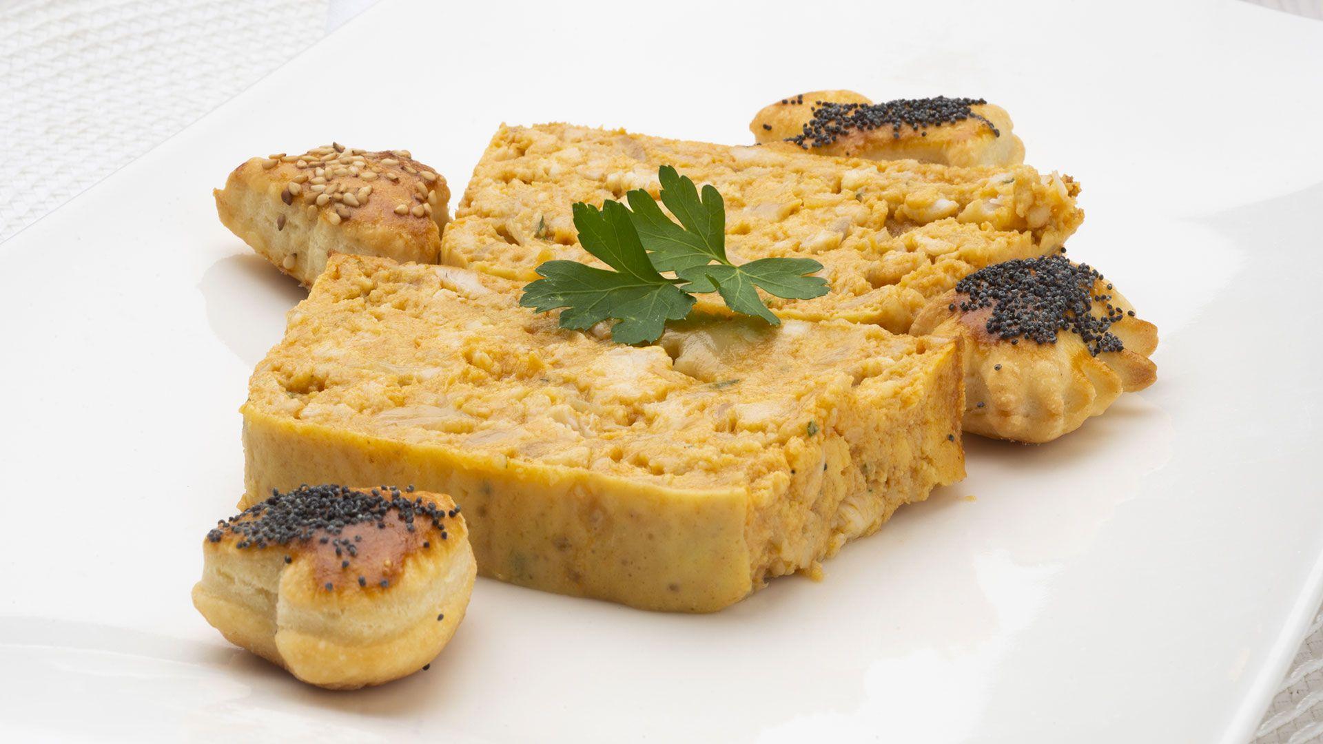 receta de pastel de pescado de Karlos Arguiñano