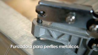 Punzonadora para perfiles metálicos