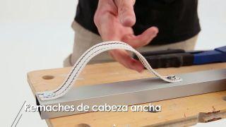 Cómo hacer remaches de cabeza ancha