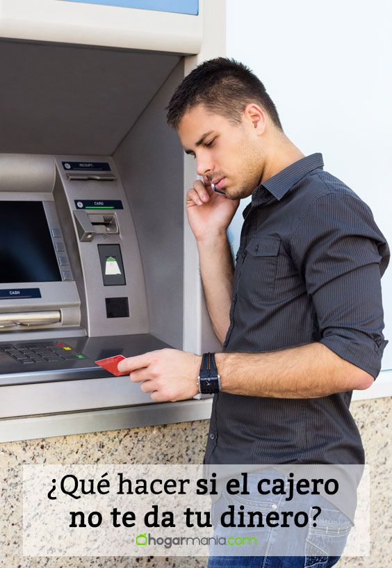 ¿Qué hacer si el cajero no te da tu dinero?